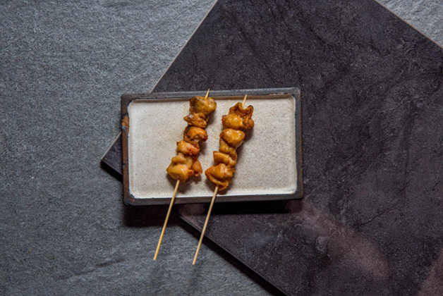 Bonjiri, chicken skewers by Bird's Nest