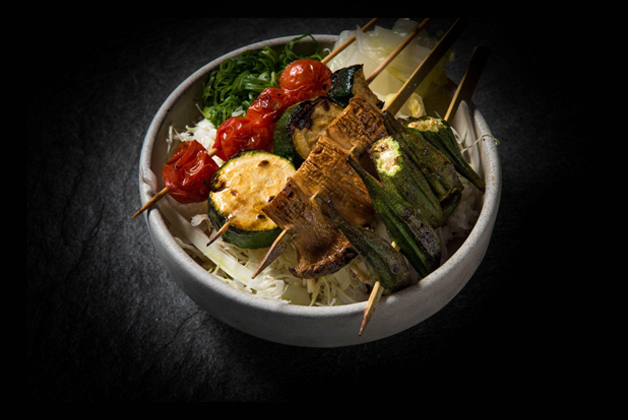 Grilled Vegetables Skewers by Bird's Nest